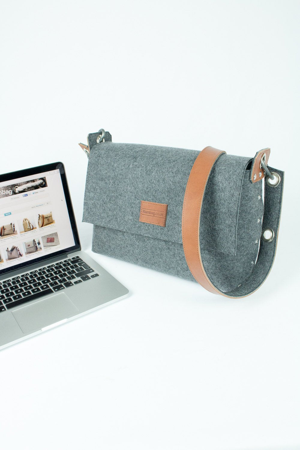 "Laptop Messenger Bag, Laptop Bag, MacBook 13"" Bag"