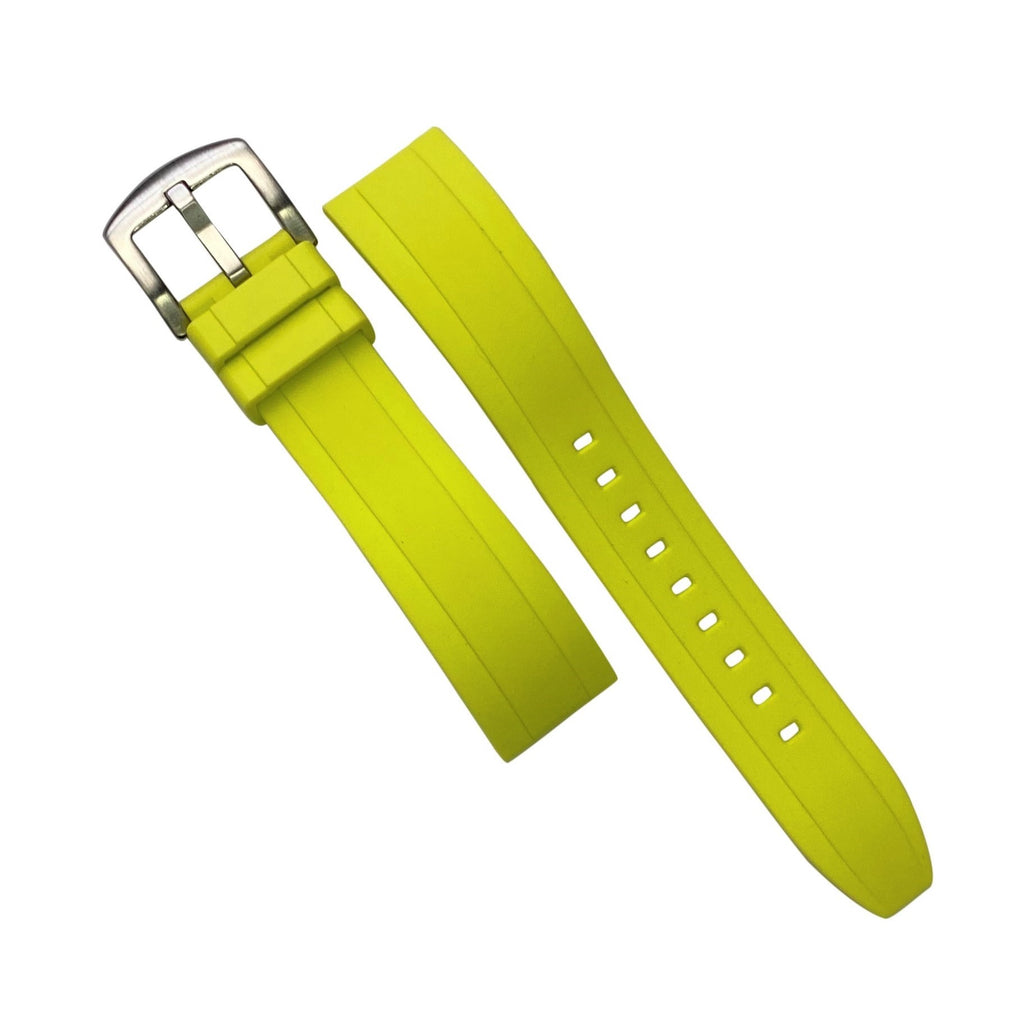 Flex Rubber Strap in Volt (22mm) - Nomad watch Works