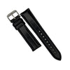 N2W Classic Horween Leather Strap in Chromexcel® Black (21mm) - Nomad watch Works
