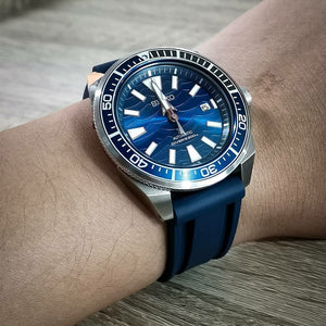 V3 Silicone Strap in Navy (20mm) - Nomad watch Works