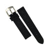 Performax N1 Hybrid Strap in Black with Black stitching (20mm) - Nomad watch Works