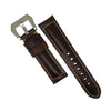 M2 Oil Waxed Leather Watch Strap in Maroon (24mm) - Nomad watch Works