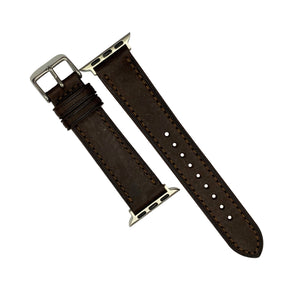 Emery Signature Pueblo Leather Strap in Brown (38 & 40mm) - Nomad watch Works
