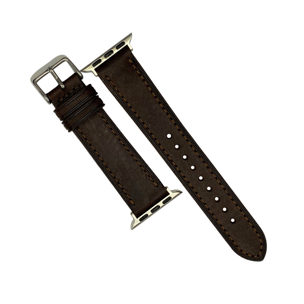 Emery Signature Pueblo Leather Strap in Brown (42 & 44mm) - Nomad watch Works