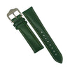 Quick Release Classic Leather Watch Strap in Green (20mm) - Nomad watch Works
