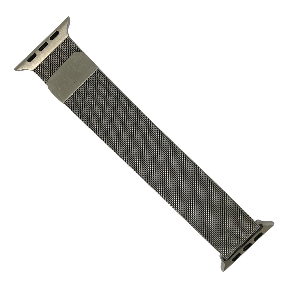 Apple Watch Milanese Mesh Strap in Silver (42 & 44mm) - Nomad watch Works