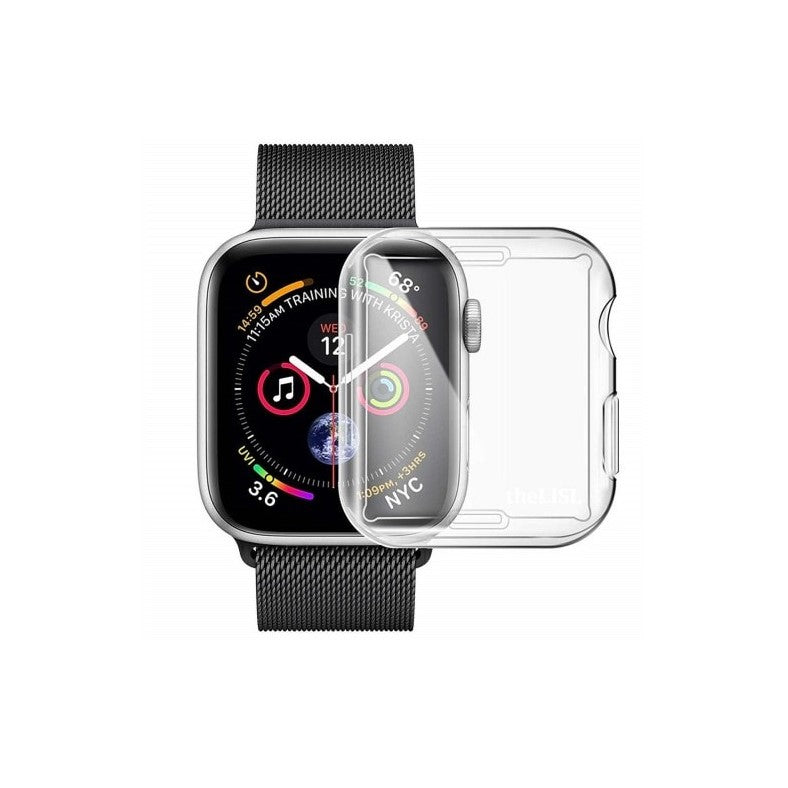 Clear TPU Case for Apple Watch 42mm - Nomad watch Works