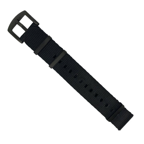 Saffiano Leather Strap in Navy (20mm)