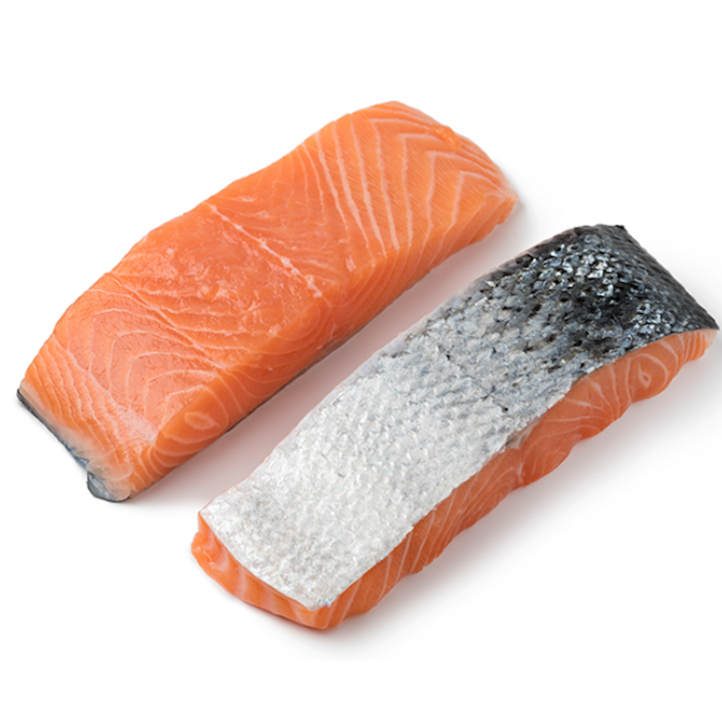 Portioned Jail Island Salmon Fillets