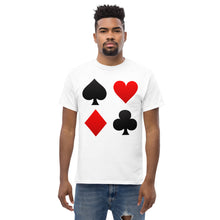 Load image into Gallery viewer, Playingcards Men's heavyweight tee