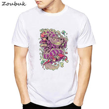 Load image into Gallery viewer, Psychedelic Research Volunteer T Shirt Men Funky Colourful Trippy Skull Print t-shirt Male Vintage Tshirt illusive top tees