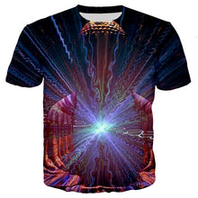 Load image into Gallery viewer, Summer vintage Tshirt Men/women ethnic Buddha 3d Print Indian Harajuku T-shirt Trippy Mens Clothing art painting tees Witch tops