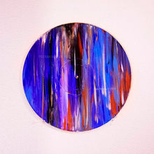 Load image into Gallery viewer, Event Horizon - 3C 371. Original Painting on a Classic Vinyl Record