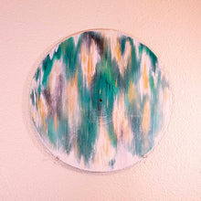Load image into Gallery viewer, Event Horizon - IC 1459. Original Painting on a Classic Vinyl Record