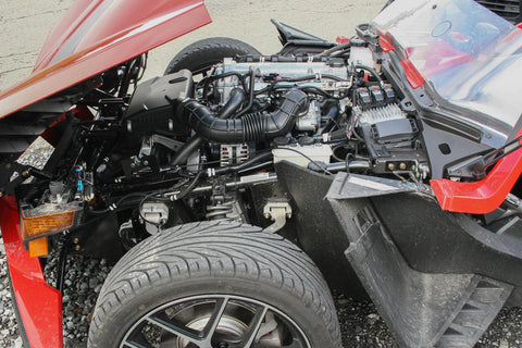 Polaris Slingshot has very impressive dimensions. It is 3,800 mm long, 1971 mm wide and 1,318 mm high.