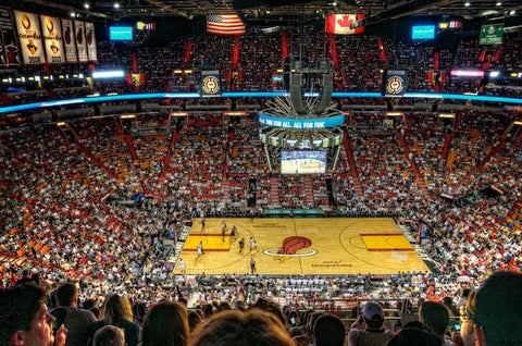 A sports complex that opened in 1999. The basketball team, a member of the NBA Miami Heat, is based here.