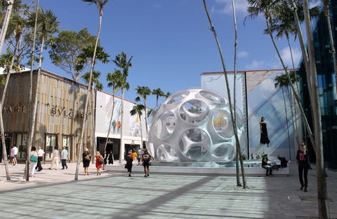 The Design District is a unique and creative place where designers, artists, and other art people gather.