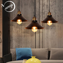 Load image into Gallery viewer, Modern Retro LED Bronze Pendant Light