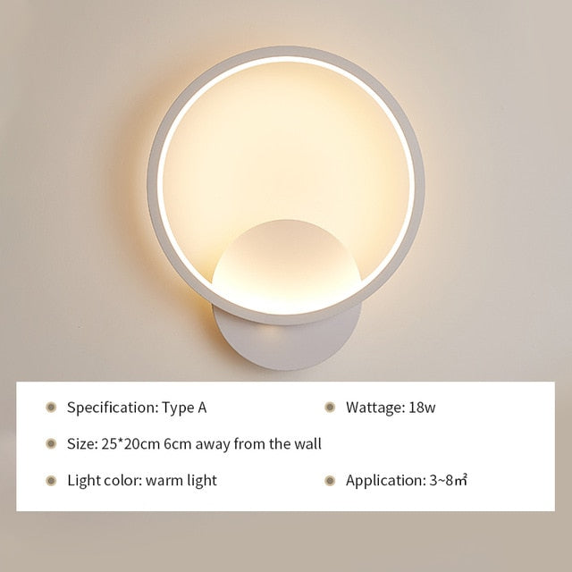 LED Wall Lamp Light Fixture