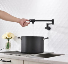 Load image into Gallery viewer, Wall Mounted Foldable Kitchen Faucet