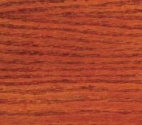 WS20-1020 Trans Red Oxide wood stain sample