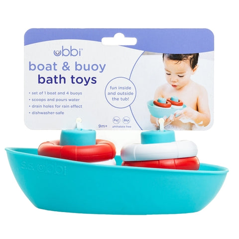Boat & Buoys Bath Toys