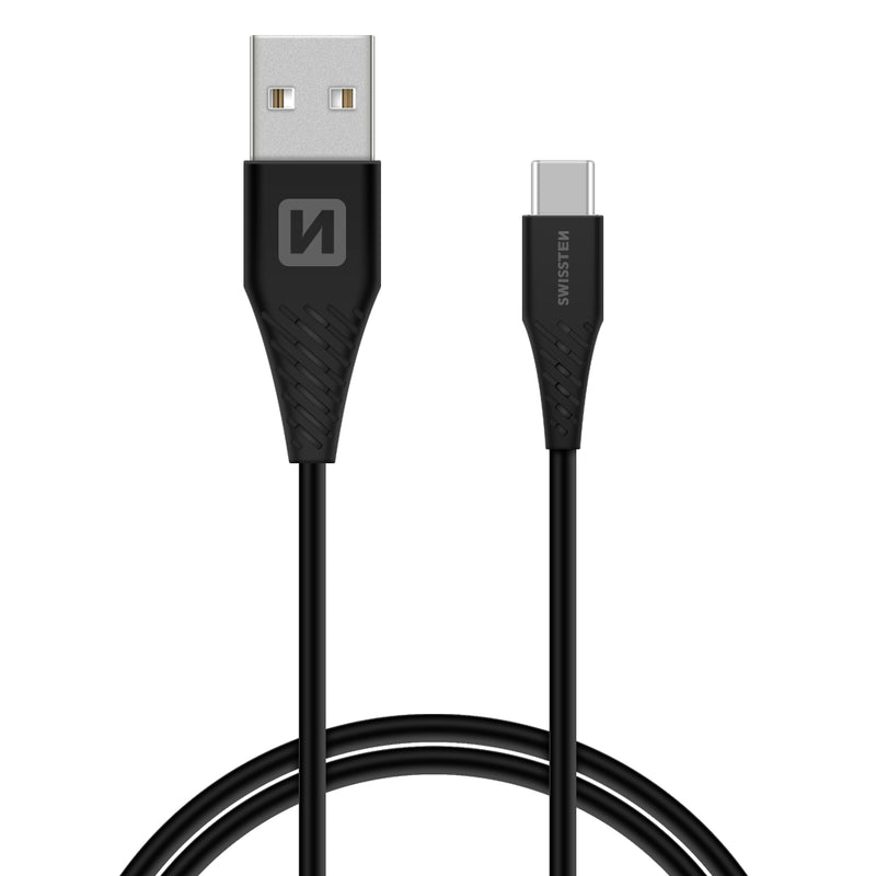 Huawei USB Cable to USB-C, Super Charge 5A, 1.5M-Black - Swissten - Backdeals