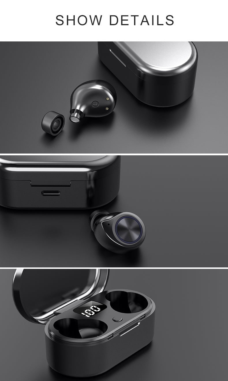 TW80 Wireless Earphone Bluetooth Headset For iOS Android