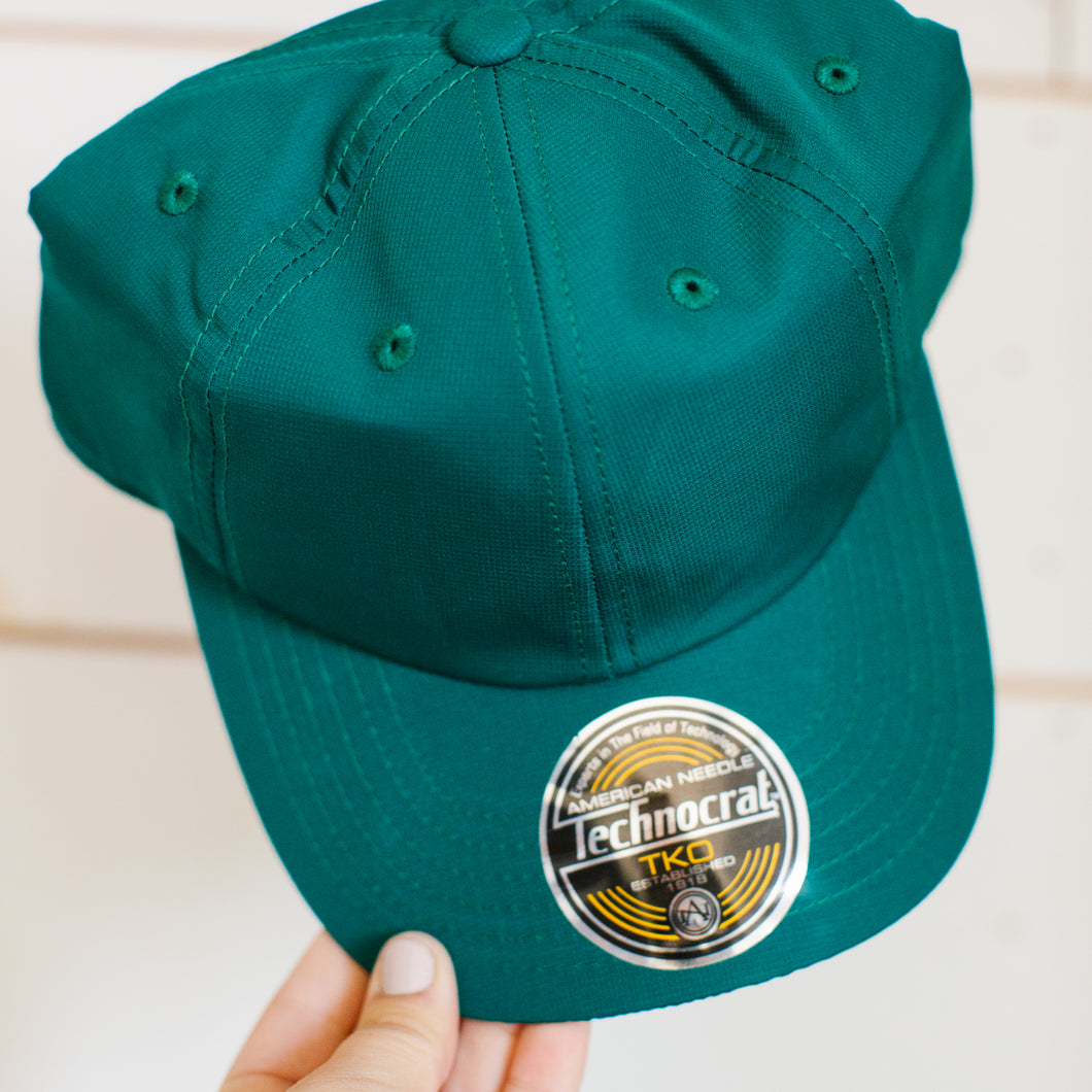 Green Hat - Blank with No Logo