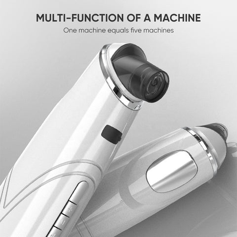 advanced magnetothermal technology stainless steel blackhead remover
