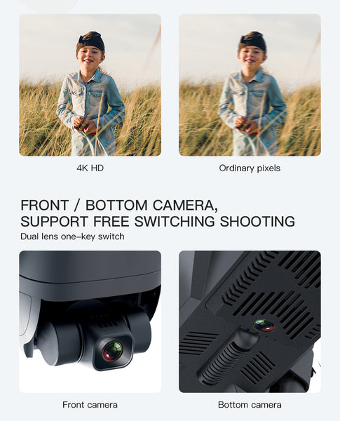 SG906 Pro Beast Drone camera functions and quality of the HD 1080px drone camera