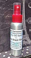 2.5oz Dry Oil Spray  EASY ORDER You pick the Scents