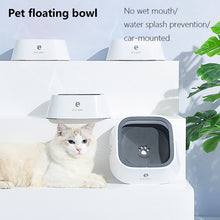 Non-Wetting Or Spilling Pet Drinking Water Bowl