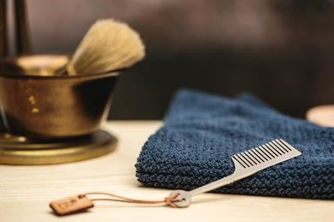 Burton and Levy handmade beard and mustache combs. The perfect gift for the best friend, boyfriend, father, groomsman, and valentine in your life