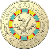 Mr Squiggle 2$ Coin