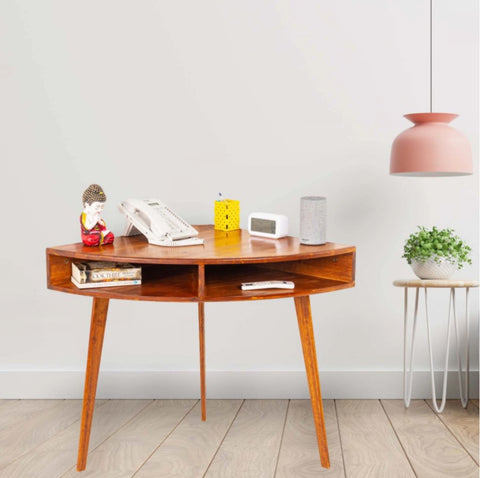 Angolo — Solid Wood Vintage Console Table