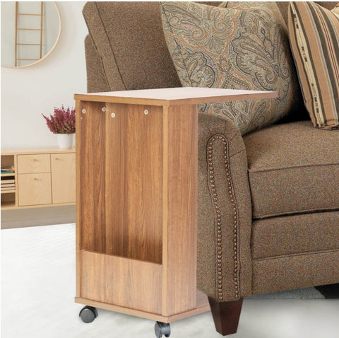 Companion Portable and Movable Coffee Table with Wheels