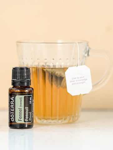 Essential Oils for tea - preparing for sleep by the wellness advocate co nz