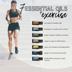 7 Essential Oils for Exercise - Preparing for Sleep by The Wellness Advocate Co Nz