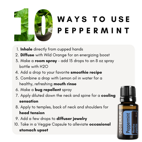 The Wellness Advocate Peppermint Essential Oil