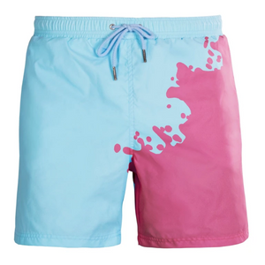 Cherry - Blue | Swim shorts that change color