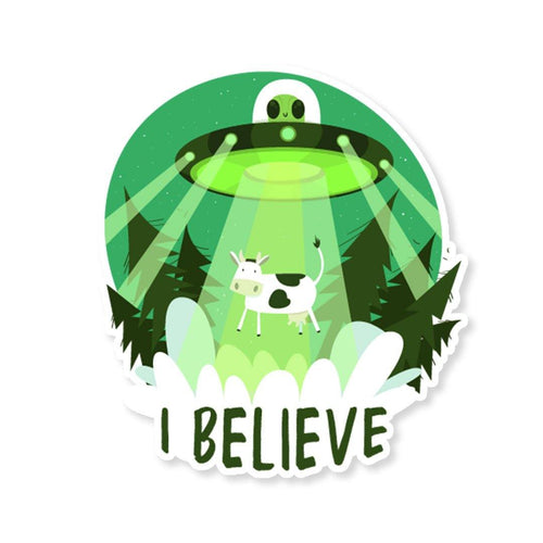 UFO Sticker - StickIt Up