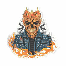 Load image into Gallery viewer, Ghost Rider Skeleton Sticker | STICK IT UP