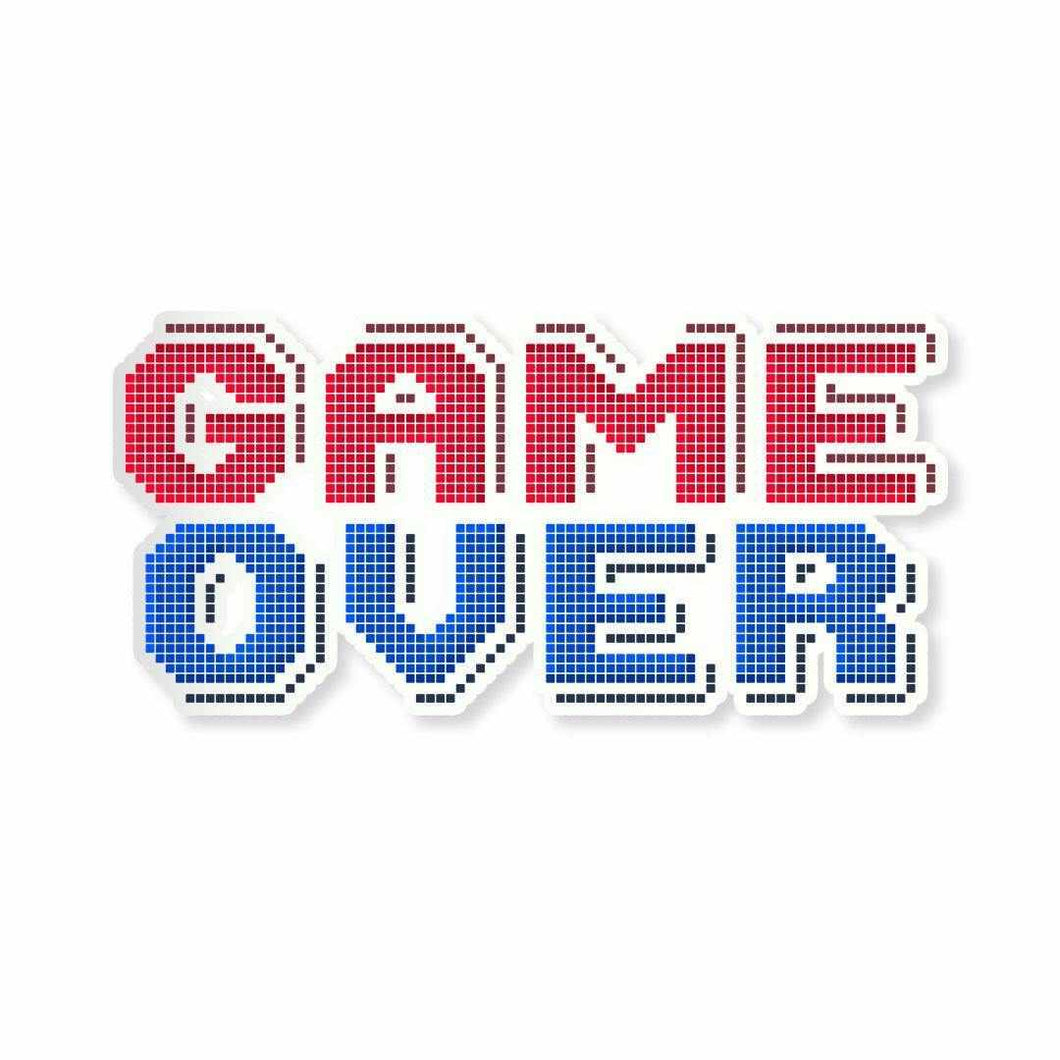 Game Over Sticker - StickIt Up