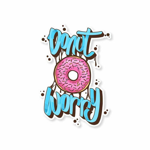 DONUT Worry Sticker | STICK IT UP