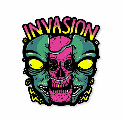 Alien Invasion Sticker | STICK IT UP