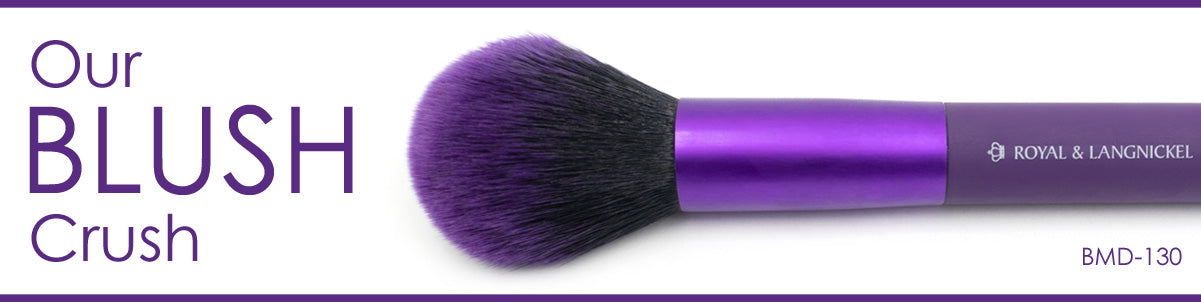 Our Blush Crush! BMD-130 - MŌDA® Professional Makeup Brushes