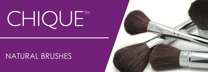 CHIQUE™ Natural Brushes