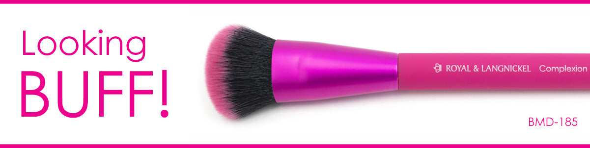 Looking Buff! BMD-185 - MŌDA® Professional Makeup Brushes