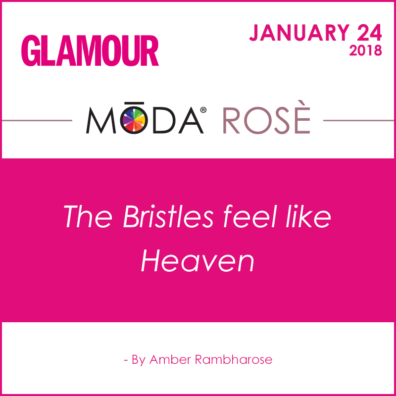 Glamour Spotlight on our MODA® Rosè Face Perfecting Kit